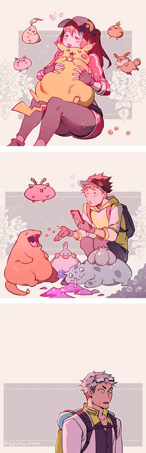 Pokemon trainers irl
