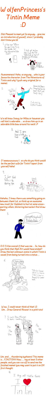 My Tintin Meme by TandP on DeviantArt