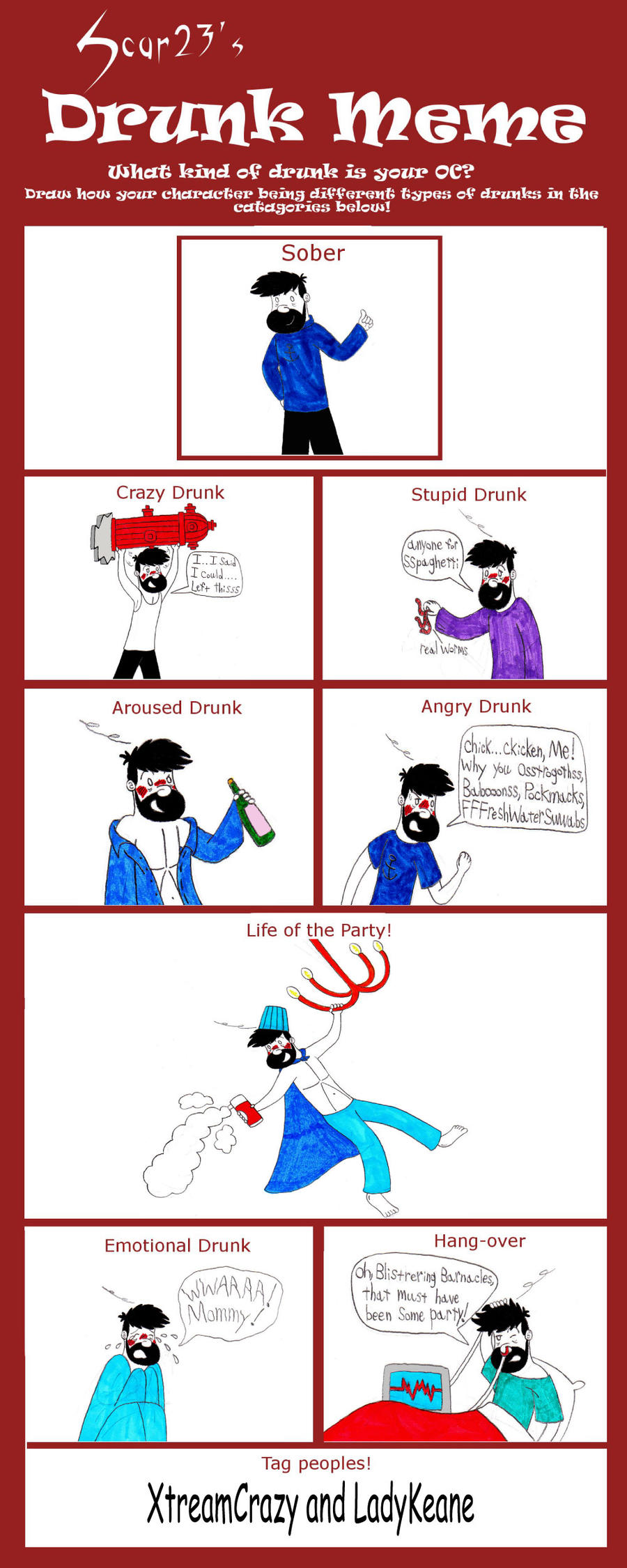Captain Haddock Drunk Meme by TandP on DeviantArt