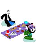 63:Dinner with a Futakuchionna