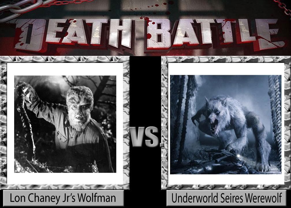 Wolfman VS Werewolf by TandP on DeviantArt