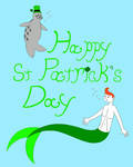 An Undersea St Patrick's Day