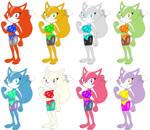 Foxy Roxy in Sonic Style