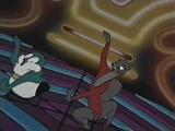 Disco dancing furries by Hypercat-Z