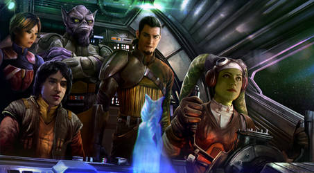 Star Wars: Rebels by mehdic