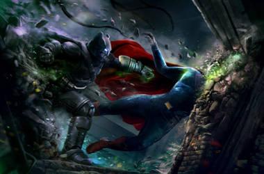 Batman V Superman by mehdic