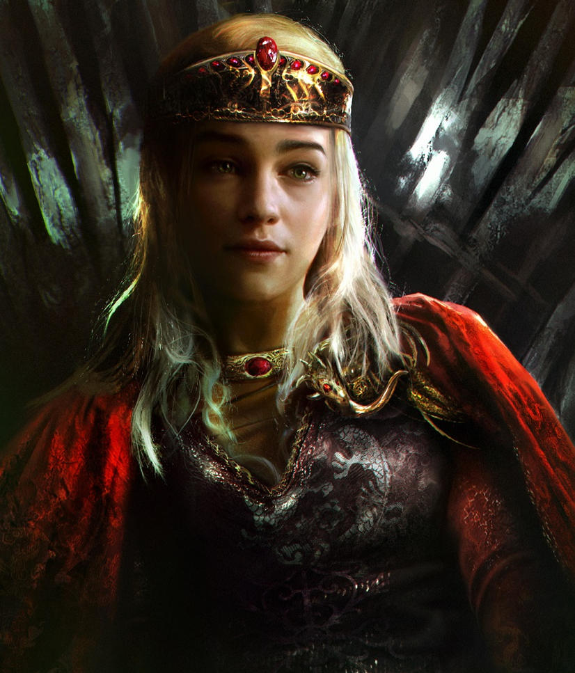 Queen Daenerys by mehdic on DeviantArt