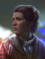 Princess Leia by mehdic