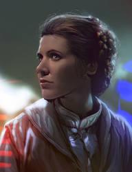 Princess Leia by mehdic