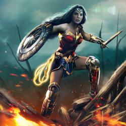 Wonder Woman by mehdic