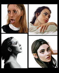 Portraits by mehdic