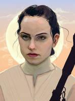 Rey by luuuuucyart