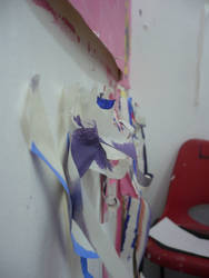 Masking Tape and Chair