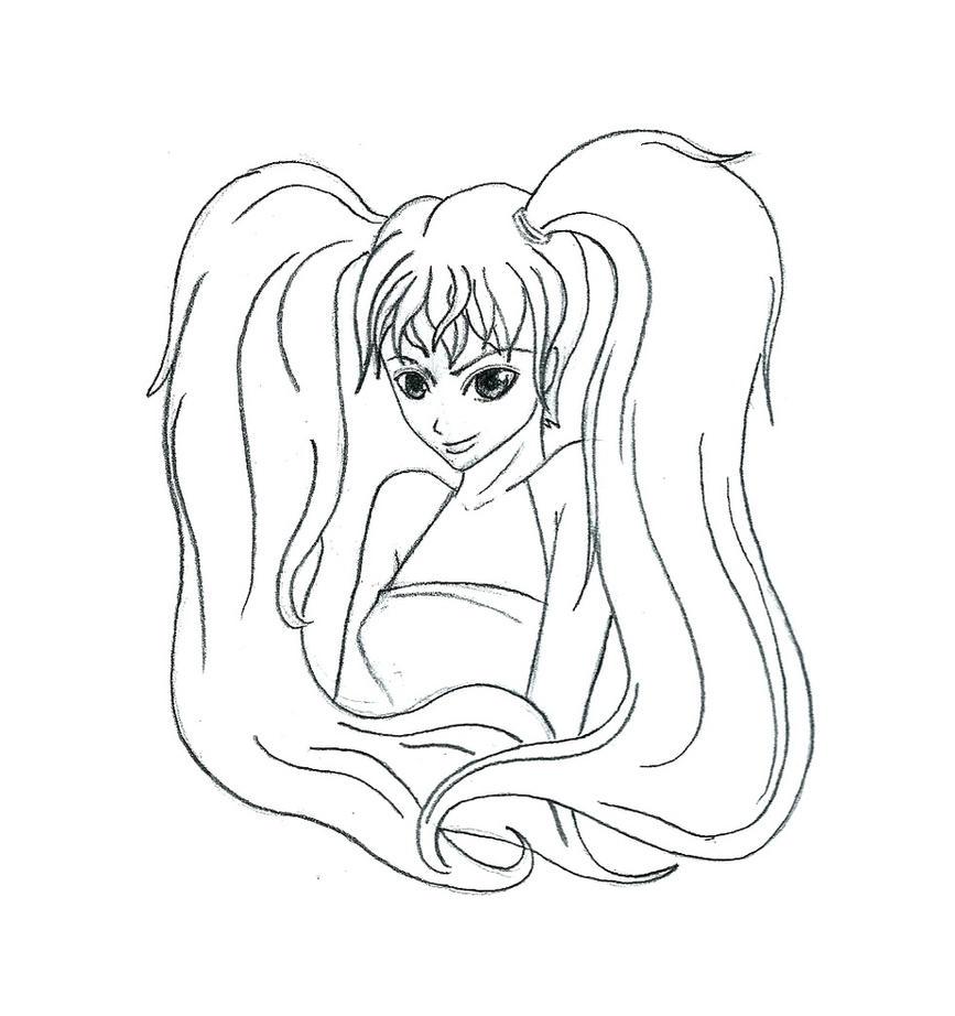Ponytail Girl By Dani8795 On DeviantArt