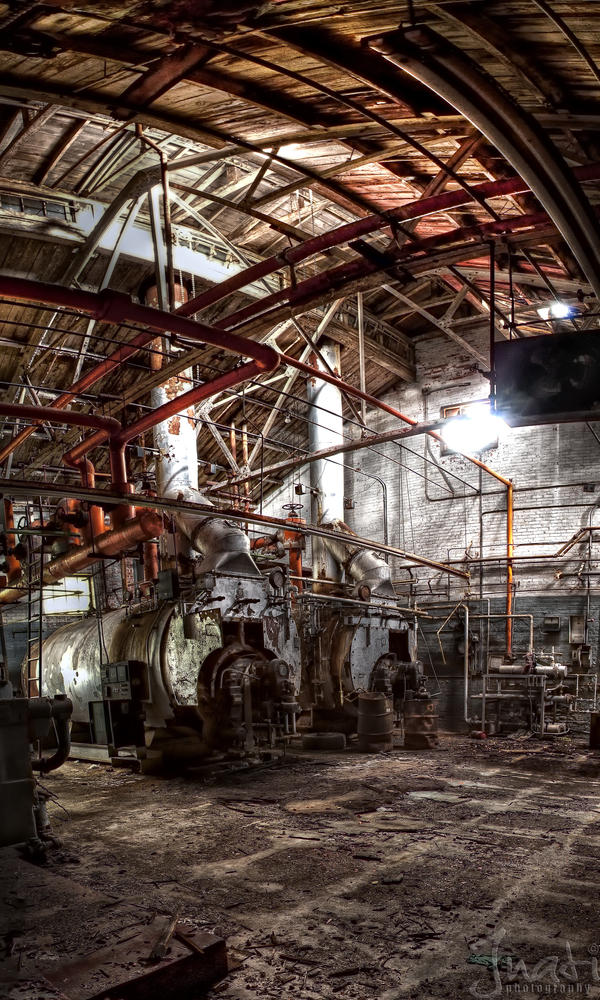 Industrial Exhaustion by jnati