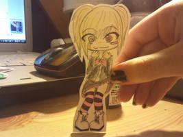 Bou paper child by Baka-Shi-Chan