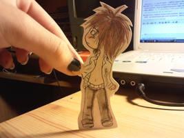 Yuuto paper child by Baka-Shi-Chan