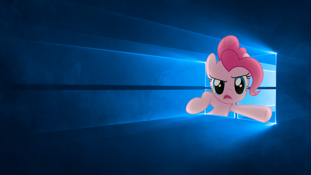 Pinkie Pie Break Windows Hero Wallpaper By Leomate