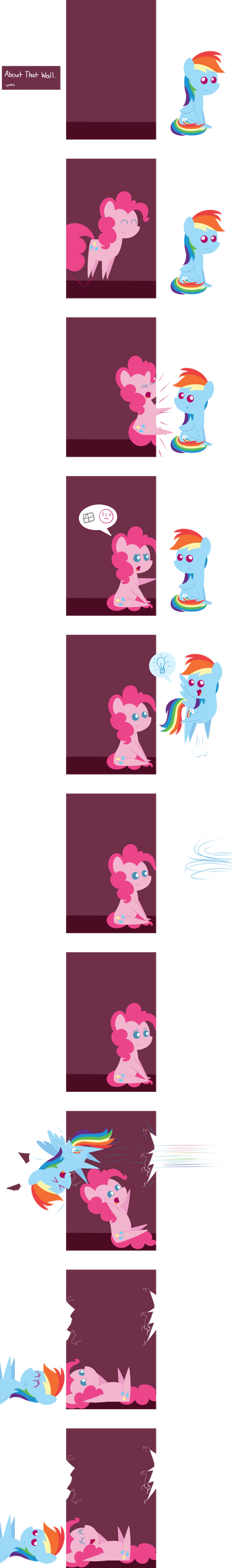 MLP: About That Wall... by postcrusade