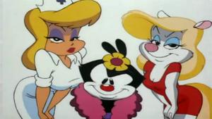 hello nurse, minerva mink and Dot Warner (2) by grandescartoons