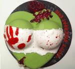 Zombie Bust Cake