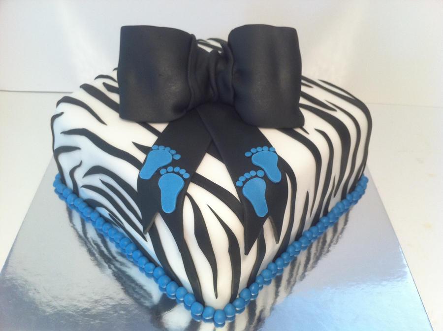 zebra babyshower cake by corpse queen on deviantart