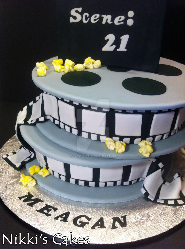 Cake With Photo Reel : Movie Reel Cake Detail by Corpse-Queen on DeviantArt