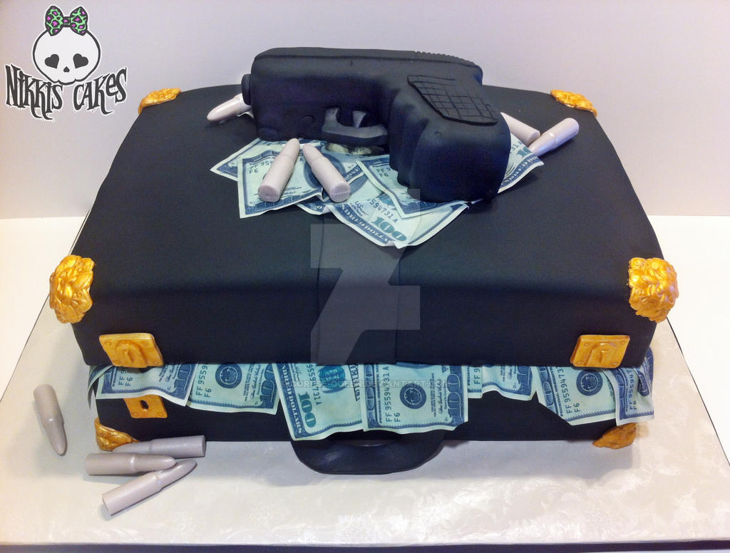 Briefcase stuffed with money cake by CorpseQueen on DeviantArt