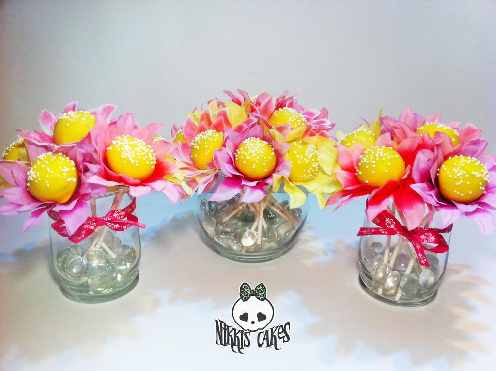 Cake Pop Flower Bouquets by Corpse-Queen on DeviantArt