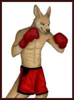 47 - Red Kangaroo by PixleRelish