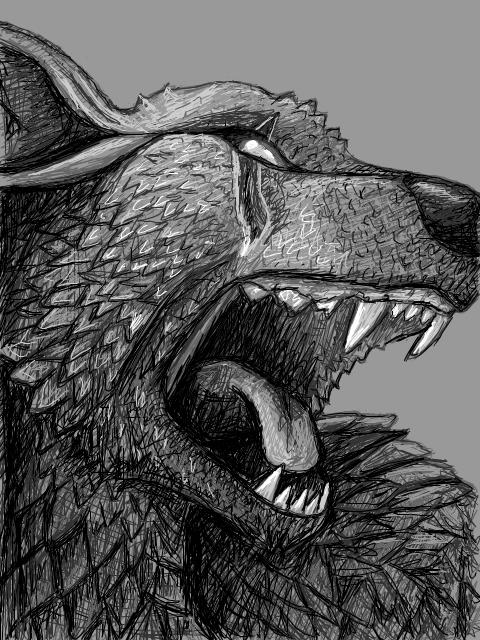 Hellhound by PixleRelish