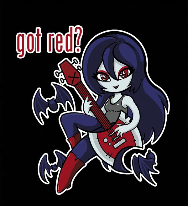 Marceline the Vampire Queen by LeenaCruz