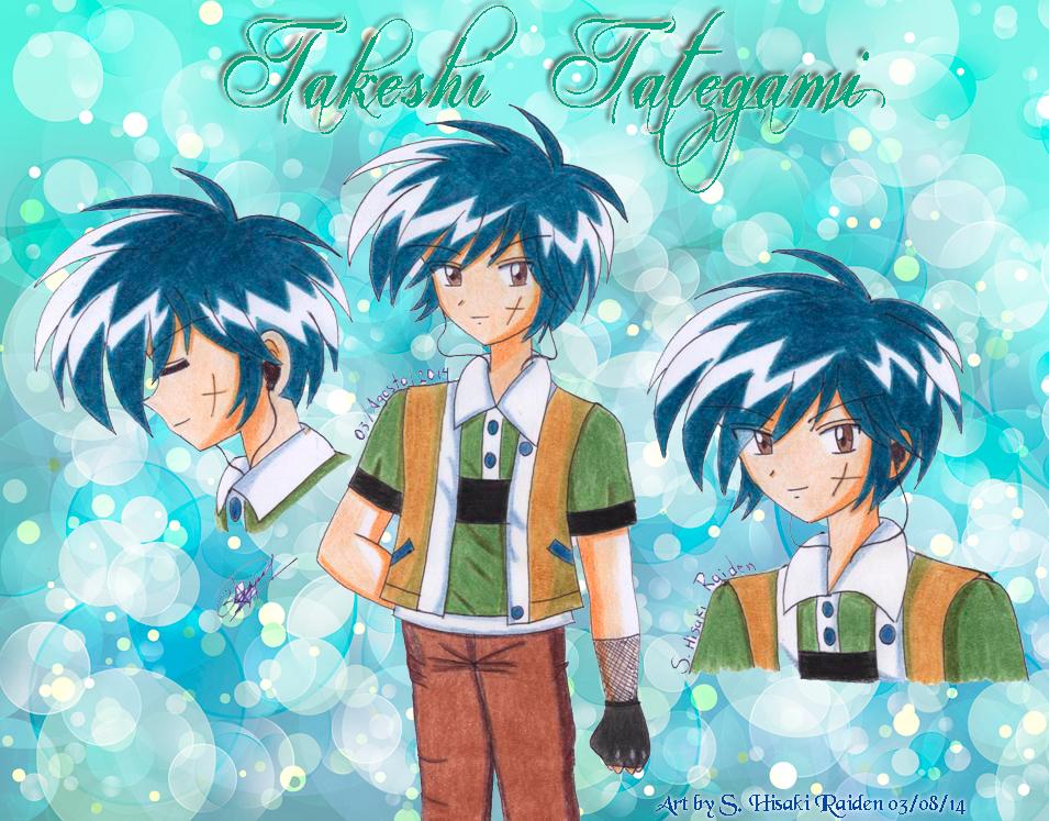 Takeshi Tategami OC -MFBeyblade by Hisaki-Raiden