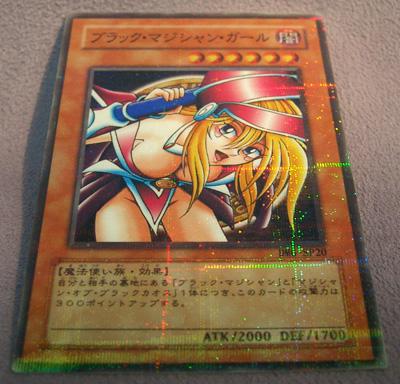 Black magician girl card hentai