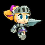 Knight Roll by luciendarkchild