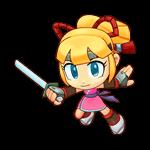 Ninja by luciendarkchild