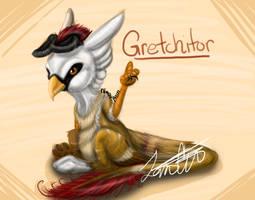 Gretchy Says Hi by NaosRain