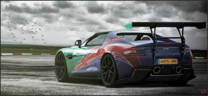 Aston martin AB Flag!