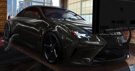 Lexus RC-F Playseat Xbox ONE