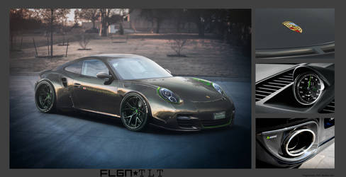 Tebi  PSA Porsche 911 turbo S LB Performance