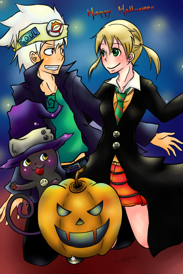 Soul eater happy halloween by phyllismi on deviantart - This is halloween soul eater ...