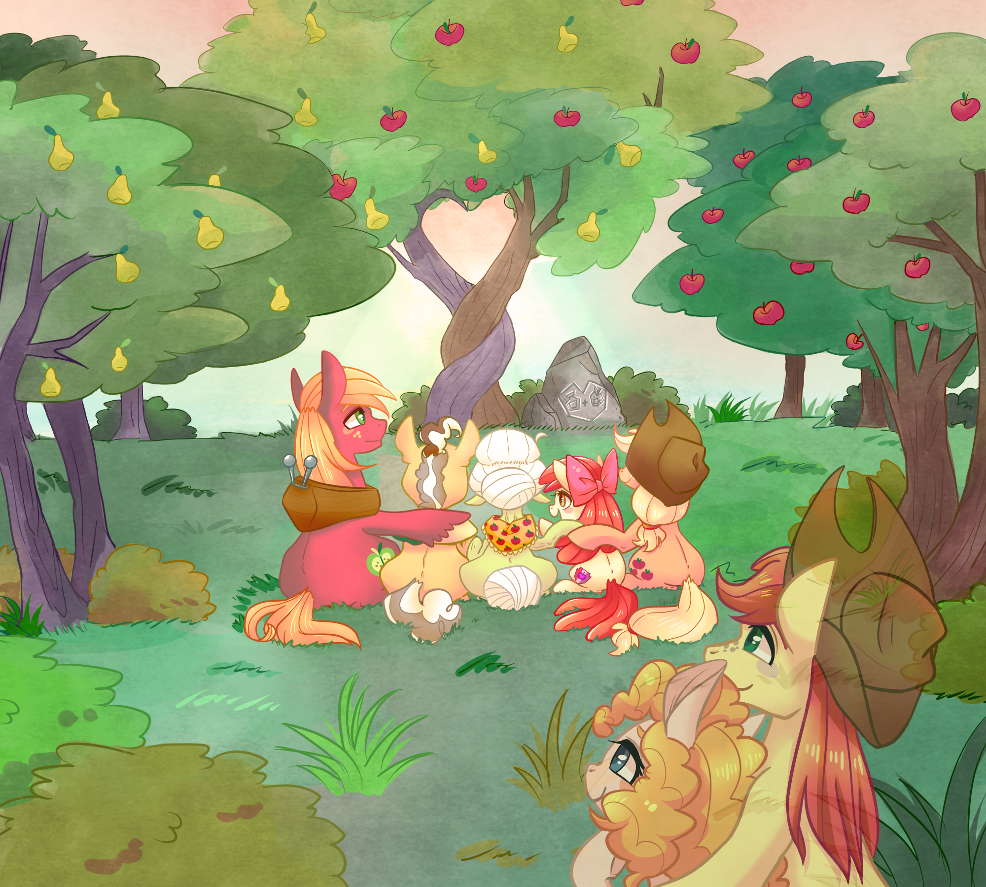 """Apple Pear"" Par Phyllismi"