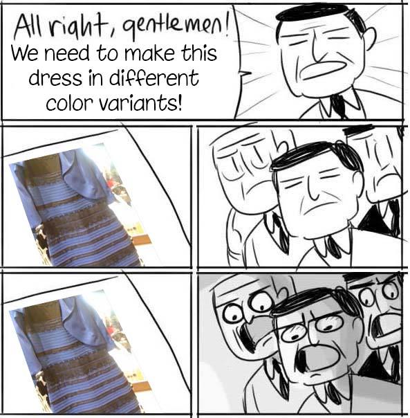 The Dress by Algiark