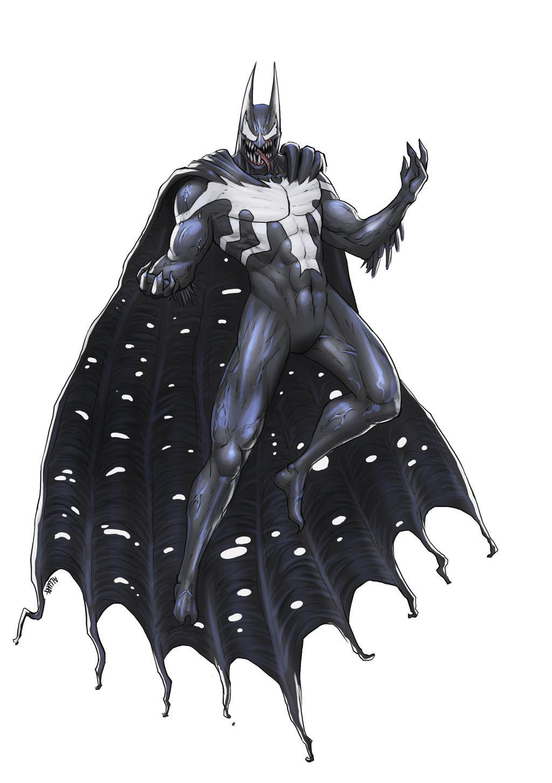 Venom Batman by Algiark on DeviantArt - 164.8KB