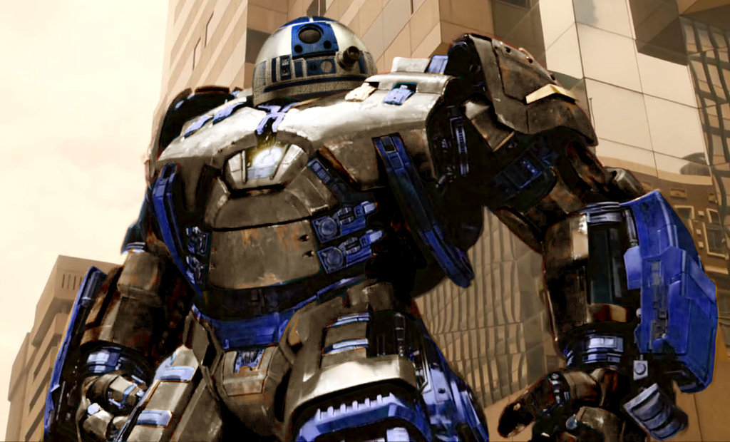 R2-D2 Starbuster by Algiark