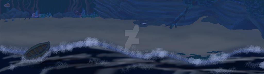 Night Beach Cartoon Story By Cha Pick On Deviantart