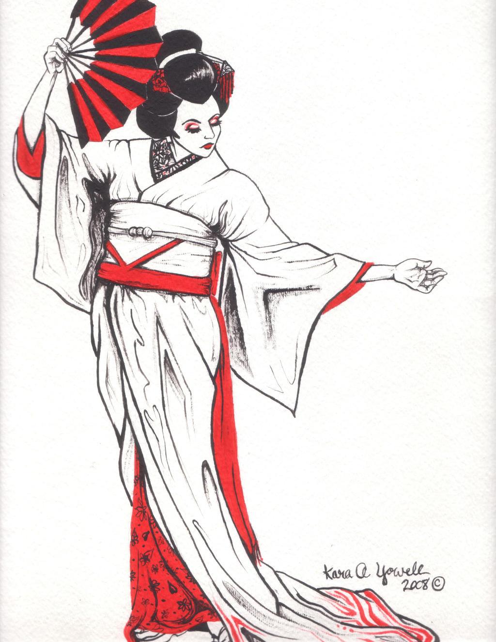 Geisha II by Kyowell