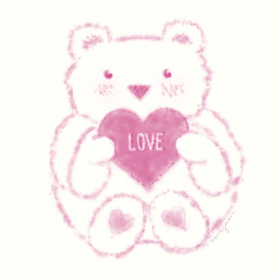 Valentine Fluff Monster by Kyowell