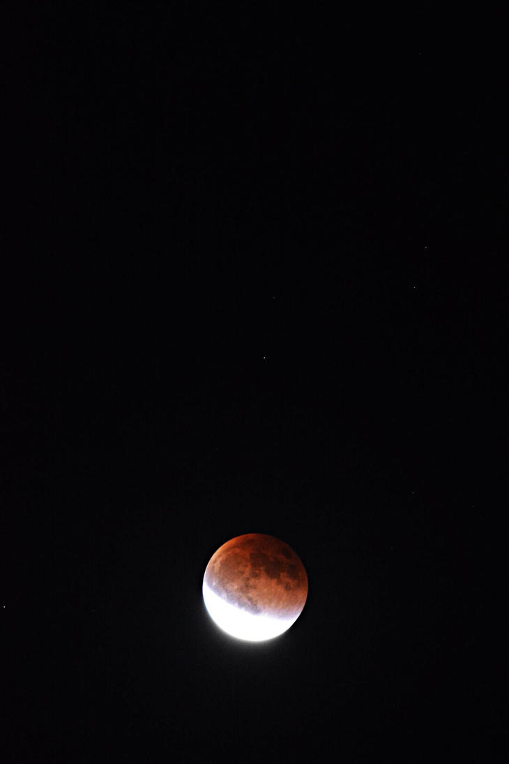 Super Duper Blood Moon Eclipse by Kyowell