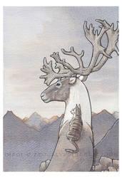 Above the Peaks by KatsBrain